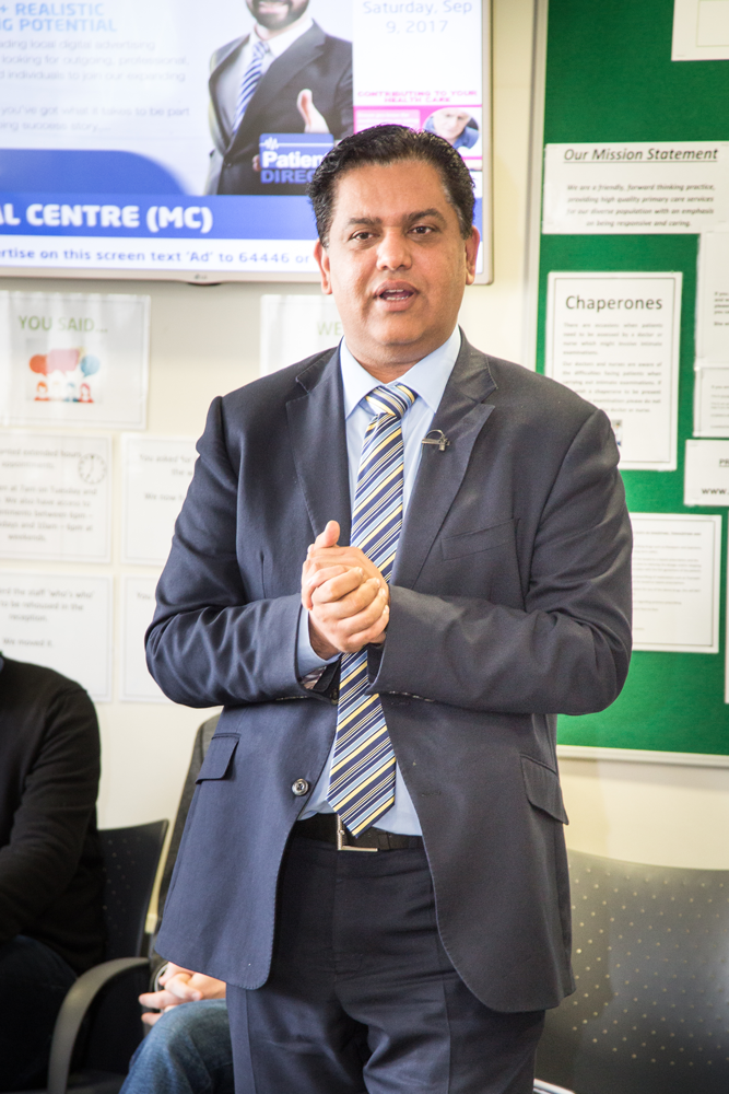 Dr Zahid Chauhan